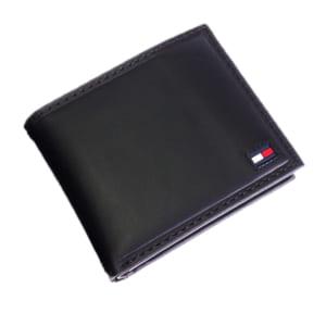 トミー ヒルフィガー TOMMY HILFIGER 二つ折財布 メンズ 31TL25X014-BK ブラック 送料無料 by トレンドギフト