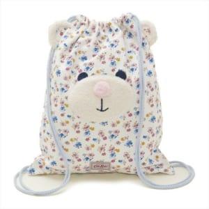 キャスキッドソン Cath Kidston キッズ 子ども ナップサック リュックサック 797108 Kids Novelty Bear Drawstring Bag キッズ ノベルティー ベアー ドローストリング バッグ Off White Mini Primrose Spray ホワイト系マルチ by 感動物語 ギフトモール店-★リボンをほどくと溢れる笑顔★-おしゃれで素敵なプレゼントやギフトにお勧めのブランド雑貨を通販-