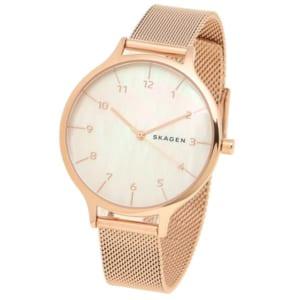 スカーゲン 時計 SKAGEN SKW2633 ANITA アニタ レディース腕時計ウォッチ ローズゴールド/パールホワイト by ブランドショップAXES(日本流通自主管理協会会員)