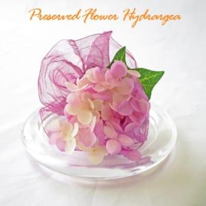 紫陽花のフラワーアレンジメント
