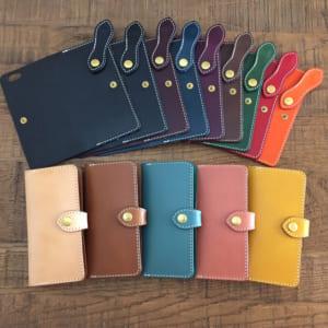 名入れ可能【*イタリアンレザーブッテーロのiPhoneケース 着せ替えフラップタイプ iPhoneXs ・XsMax ・XR iPhone全機種】 by CxC Leather(シーバイシーレザー)