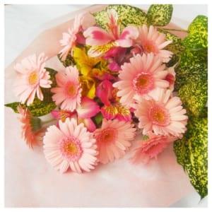 ガーベラ12本の花束