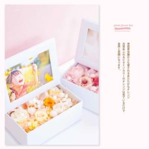 photo flower box フォトフラワーボックス