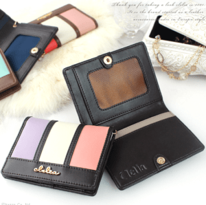 Clelia レディース 三つ折り財布