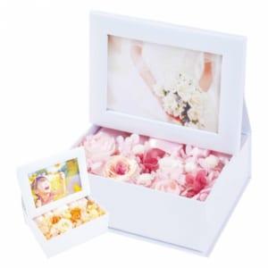 プリザーブドフラワー 写真立て 『photo flower box フォトフラワーボックス』
