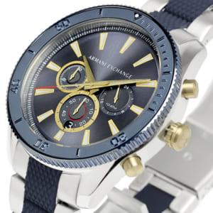 アルマーニ エクスチェンジ クロノグラフ 腕時計