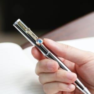 スワロフスキーキラキラボールペン クリスタルペン