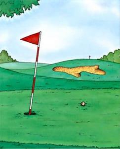 大人向けの絵本 ゴルフの本 Golf Book by ネコ店長のオリジナル絵本屋さん
