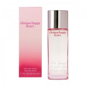 【名入れ】 クリニーク ハッピーハート 大切な人への贈りものに 優しいフローラルの香り by スマートギフト