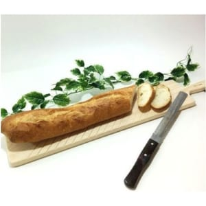 【ラッピング無料】 《キッチン小物》 ☆カッティングボード♪ フランスパンが切れるサイズ♪☆ 【国産】 【ヒノキ】 【名入れ可能】 by ナチュラルウッディきりかぶ