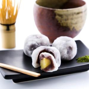 【栗大福 純白 6個】最高級のもち米を使った、贅沢な大福! by 新杵堂