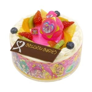 バースデーケーキ キャラデコお祝いケーキ スター☆トゥインクルプリキュア 5号 15cm 生クリームショートケーキ by CAKE EXPRESS