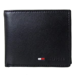 トミーヒルフィガー TOMMY HILFIGER 二つ折り財布 メンズ ブラック 31TL25X016-001 0096 5475 01 by Alevel(エイレベル)