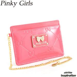 ピンキーガールズ Pinky Girls 定期入れ パスケース コーラルピンク pslw1ap1-45 レディース 婦人 by セレクトショップ インスピレーション