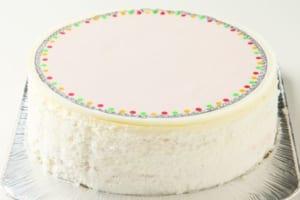 ケーキの土台のみ(自由にアレンジできます) by 写真ケーキ工房のハナビシ