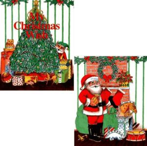 【クリスマスの願いごと】名前入りオリジナル絵本