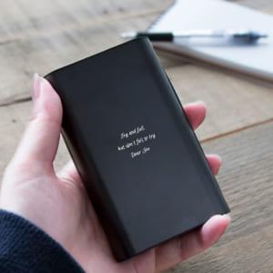 【名入れ大容量モバイルバッテリー】モバイルバッテリー パワープラス 父の日の贈り物に、お誕生日や記念日のプレゼントに by スマートギフト