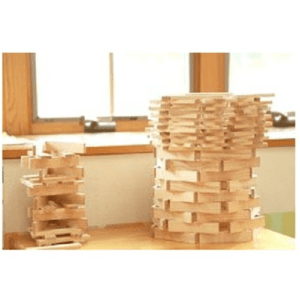 フランス生まれの木のおもちゃ 木製ブロック KAPLA200