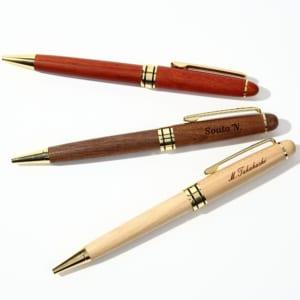 名入れ 木製ボールペン