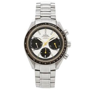 オメガ 時計 OMEGA 326.30.40.50.04.001 スピードマスター レーシング 自動巻き メンズ腕時計 ウォッチ シルバー/ホワイト by ブランドショップAXES(日本流通自主管理協会会員)