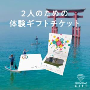 スタイル版体験ギフトチケット PAIR -Happiness- by asoview! GIFT(アソビューギフト)