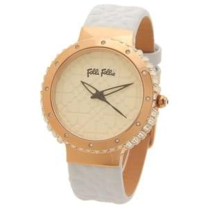 フォリフォリ 時計 FOLLI FOLLIE WF13B032SPIーWH HEART4HEARTSYMPHONY レディース腕時計ウォッチ ホワイト by ブランドショップAXES(日本流通自主管理協会会員)