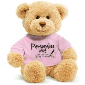 ガンド GUND Tシャツベア 320535PK ぬいぐるみ テディベア グッズ くま T-Shirt Bear 人形 熊 キッズ ベビー おもちゃ ギフト プレゼント 新品 by 感動物語 ギフトモール店-★リボンをほどくと溢れる笑顔★-おしゃれで素敵なプレゼントやギフトにお勧めのブランド雑貨を通販-