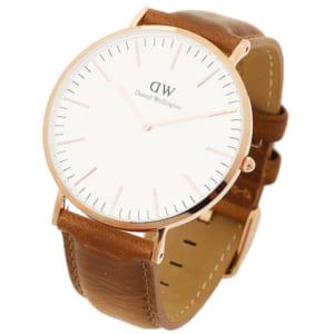ダニエルウェリントン 時計 Daniel Wellington DW00100109 40mm CLASSIC クラシック メンズ腕時計 ウォッチ DURHAM ローズゴールド by ブランドショップAXES(日本流通自主管理協会会員)