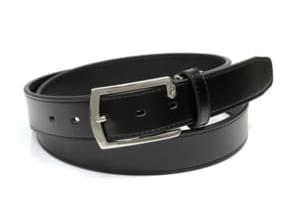 フルボ FURBO メンズ ベルト 牛革レザー FDB005 ブラック Men's バックル ビジネスベルト by CAMERON