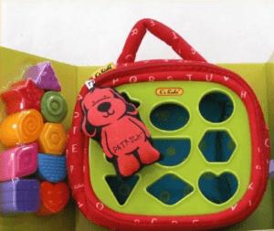 【パトリック シェイプス】ブロック ぬのおもちゃ