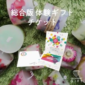 総合版体験ギフトチケット Fun by asoview! GIFT(アソビューギフト)