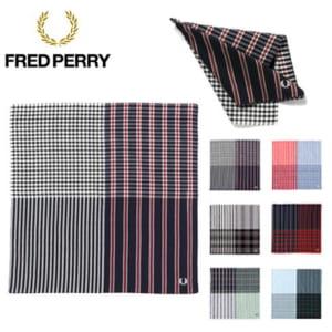 フレッドペリー FRED PERRY ハンカチ メンズ ストライプ チェック F19790 by コレカラスタイル Corekara Style