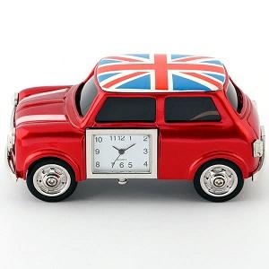 ミニチュア クロック 置時計 車型 日本製クォーツ おしゃれ 小さい アナログ 卓上 インテリア デザイン かわいい 雑貨 レア アイテム ギフト C3267-UK by CAMERON
