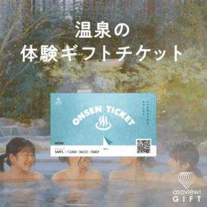ONSEN TICKET(ペアチケット)