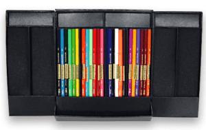 サンフォード カリスマカラー色鉛筆 軟質 24色セット