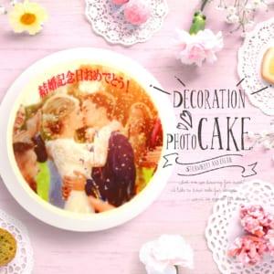 インスタでも大人気!写真デコレーションケーキ 5号~ クール便・イチゴ入り・バースデーケーキ・お誕生日・お祝い・プレゼント by 写真ケーキ工房のハナビシ