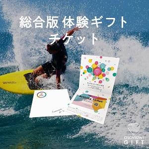 総合版体験ギフトチケット Colorful by asoview! GIFT(アソビューギフト)