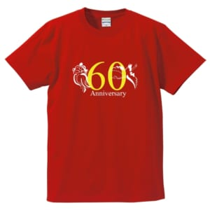 鶴と亀 60Anniversary Tシャツ