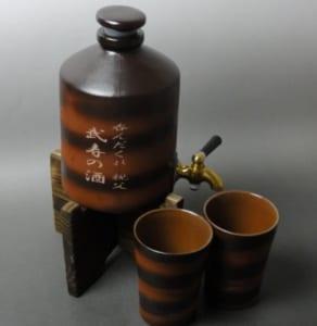 【名入れ焼酎サーバー】焼酎カップ2個付