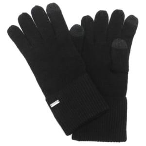 「コーチ(COACH)」 手袋エンボス シグネチャー ニット タッチ