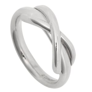「TIFFANY&Co.(ティファニー)」インフィニティ レディース 指輪 シルバー