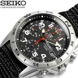 「SEIKO(セイコー)」 クロノグラフ メンズ 腕時計 ウォッチ