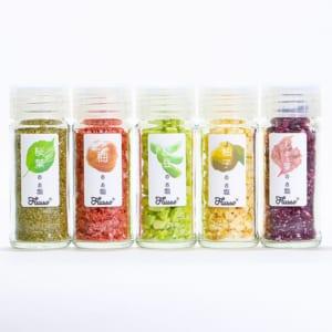 野菜のお塩5点セット「Flusso(フルッソ)」 新感覚調味料 オーガニック塩