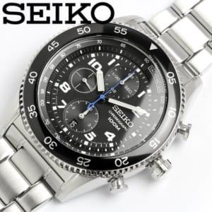 セイコー SEIKO 腕時計 メンズ 100M防水「クロノグラフ」 カレンダー
