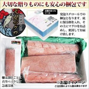 青森県 大間産本マグロ 赤身と中トロセット