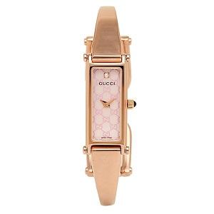グッチ GUCCI 時計 腕時計 グッチ 時計 レディース GUCCI YA015559 1500シリーズ 腕時計 ウォッチ ピンクパール/ピンクゴールド by ブランドショップAXES(日本流通自主管理協会会員)