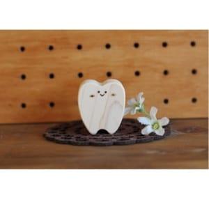ひのきの乳歯ケース