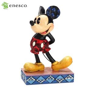 エネスコ enesco. ディズニー・トラディション Disney Traditions クラシック・ミッキー・マウス Classic Mickey Mouse 木彫り調フィギュア ミッキーマウス ギフト 出産祝い 男の子 女の子 おもちゃ 誕生日 1歳 2歳 3歳 4歳 5歳 6歳 男 女 入学 内祝い 赤ちゃん by 感動物語 ギフトモール店-★リボンをほどくと溢れる笑顔★-おしゃれで素敵なプレゼントやギフトにお勧めのブランド雑貨を通販-