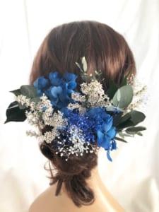 ヘッドドレス 髪飾りプリザーブドフラワー