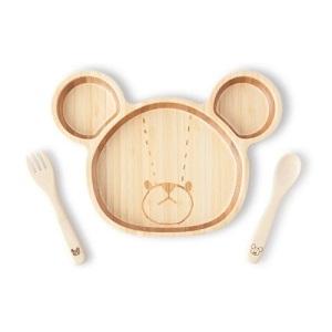 【名入れ/竹食器】ジャッキー ランチプレートセット by FUNFAM
